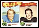 1975 Topps #215   -  Merlin Olsen / Mike Reid All-Pro Defensive Tackles Front Thumbnail