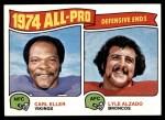 1975 Topps #216   -  Carl Eller / Lyle Alzado All-Pro Defensive Ends Front Thumbnail
