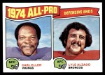 1975 Topps #216   -  Carl Eller / Lyle Alzado All-Pro Defensive Ends Front Thumbnail