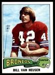 1975 Topps #267  Bill Van Heusen  Front Thumbnail