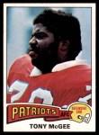 1975 Topps #41  Tony McGee   Front Thumbnail