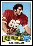 1975 Topps #16  Buck Buchanan  Front Thumbnail