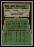 1975 Topps #85  Bob Trumpy  Back Thumbnail