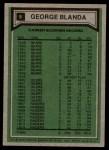 1975 Topps #8   -  George Blanda  Highlights Back Thumbnail