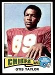 1975 Topps #75  Otis Taylor  Front Thumbnail