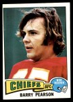 1975 Topps #399  Barry Pearson  Front Thumbnail