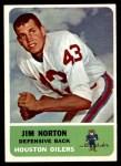 1962 Fleer #52  Jim Norton  Front Thumbnail
