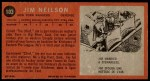 1964 Topps #103  Jim Neilson  Back Thumbnail