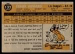 1960 Topps #132   -  Frank Howard Rookie Star Back Thumbnail