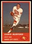 1963 Fleer #49  Chris Buford  Front Thumbnail