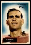 1955 Bowman #81  Billy Wilson  Front Thumbnail