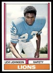 1974 Topps #224  Levi Johnson  Front Thumbnail
