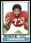 1974 Topps #369  Ernie McMillan  Front Thumbnail