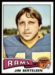 1975 Topps #121  Jim Bertelsen  Front Thumbnail