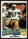 1975 Topps #408  Jim Merlo  Front Thumbnail