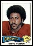 1975 Topps #489  Steve Holden  Front Thumbnail