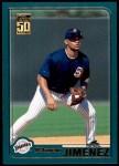 2001 Topps Traded #177 T D'Angelo Jimenez  Front Thumbnail
