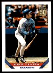 2001 Topps Traded #138 T  -  Mike Piazza 93  Front Thumbnail