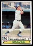 1979 Topps #245  Jeff Burroughs  Front Thumbnail