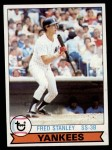 1979 Topps #16  Fred Stanley  Front Thumbnail
