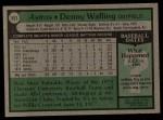 1979 Topps #553  Denny Walling  Back Thumbnail