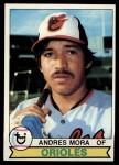 1979 Topps #287  Andres Mora  Front Thumbnail