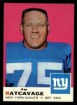 1969 Topps #84  Jim Katcavage  Front Thumbnail