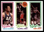1980 Topps   -  Marvin Webster / Caldwell Jones / Sam Lacey 172 / 175 / 129 Front Thumbnail