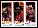 1980 Topps   -  Wayne Cooper / George Johnson / Leonard Robinson 95 / 154 / 193 Front Thumbnail
