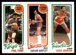 1980 Topps   -  Phil Ford / Adrian Dantley / Eddie Johnson 124 / 234 / 26 Front Thumbnail