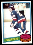 1980 Topps #25  Mike Bossy  Front Thumbnail