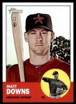 2012 Topps Heritage #119  Matt Downs  Front Thumbnail
