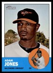 2012 Topps Heritage #319  Adam Jones  Front Thumbnail