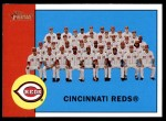 2012 Topps Heritage #63   Reds Team Front Thumbnail