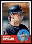 2012 Topps Heritage #411  Nathan Eovaldi  Front Thumbnail