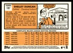 2012 Topps Heritage #187  Shelley Duncan  Back Thumbnail
