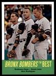 2012 Topps Heritage #173   -  Robinson Cano / Derek Jeter / Alex Rodriguez Bronx Bombers Best Front Thumbnail