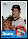 2012 Topps Heritage #12  Jim Johnson  Front Thumbnail