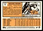 2012 Topps Heritage #46  Michael Bourn  Back Thumbnail