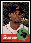 2012 Topps Heritage #96  Carl Crawford  Front Thumbnail
