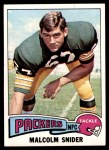 1975 Topps #503  Malcolm Snider  Front Thumbnail