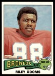 1975 Topps #470  Riley Odoms  Front Thumbnail