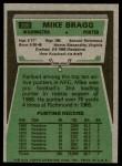 1975 Topps #506  Mike Bragg  Back Thumbnail