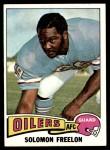 1975 Topps #437  Solomon Freelon  Front Thumbnail