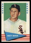 1961 Fleer #58  Marty Marion  Front Thumbnail
