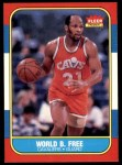 1986 Fleer #35  World B. Free  Front Thumbnail