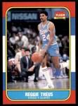 1986 Fleer #108  Reggie Theus  Front Thumbnail