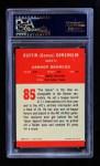 1963 Fleer #85  Goose Gonsoulin  Back Thumbnail