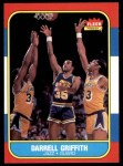 1986 Fleer #42  Darrell Griffith  Front Thumbnail