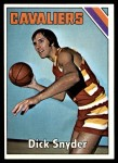 1975 Topps #83  Dick Snyder  Front Thumbnail